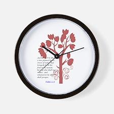 planted Wall Clock