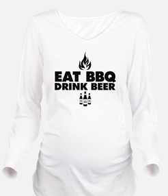 Cute Food and drink Long Sleeve Maternity T-Shirt
