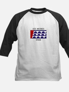 Des Moines Iowa Baseball Jersey