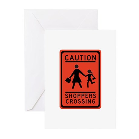 Shoppers Crossing, Texas - USA Greeting Cards (Pk