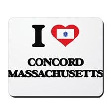 I love Concord Massachusetts Mousepad