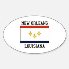 New Orleans Flag Decal