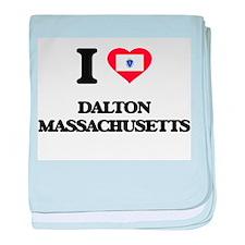 I love Dalton Massachusetts baby blanket
