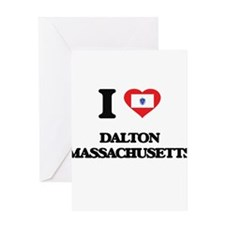 I love Dalton Massachusetts Greeting Cards