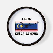 Love Kuala Lumpur Wall Clock