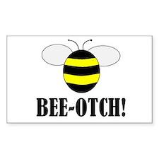 BEE-OTCH Rectangle Bumper Stickers