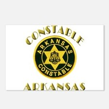Arkansas Constable Postcards (Package of 8)