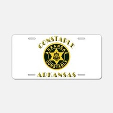 Arkansas Constable Aluminum License Plate
