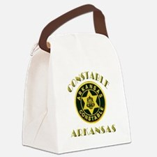 Arkansas Constable Canvas Lunch Bag