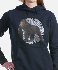 Gorilla Classic Animal Women's Hooded Sweatshirt