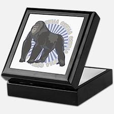 Gorilla Classic Animal Keepsake Box