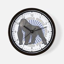 Gorilla Classic Animal Wall Clock
