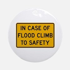 In Case of Flood - USA Ornament (Round)