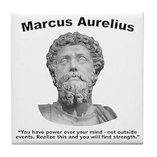 Aurelius: Strength Tile Coaster