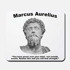 Aurelius: Strength Mousepad