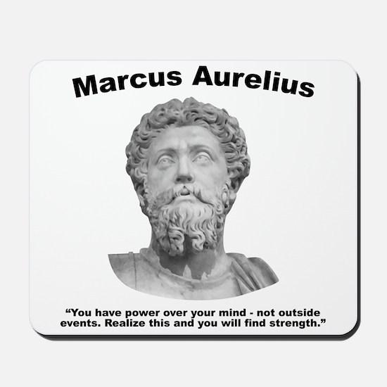 Aurelius: Strength Mousepad