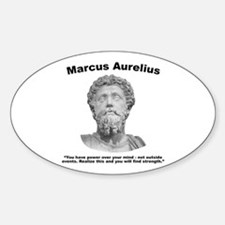 Aurelius: Strength Sticker (Oval)
