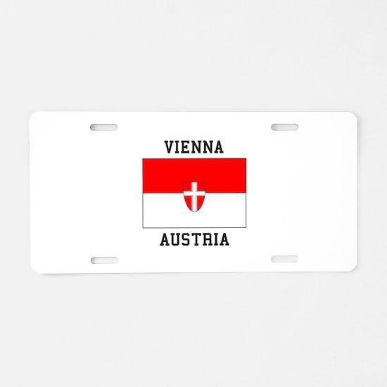 Vienna, Austria Aluminum License Plate