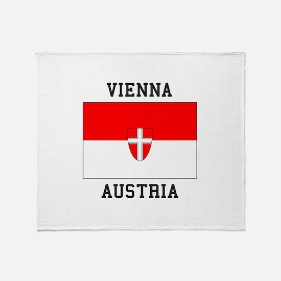 Vienna, Austria Throw Blanket