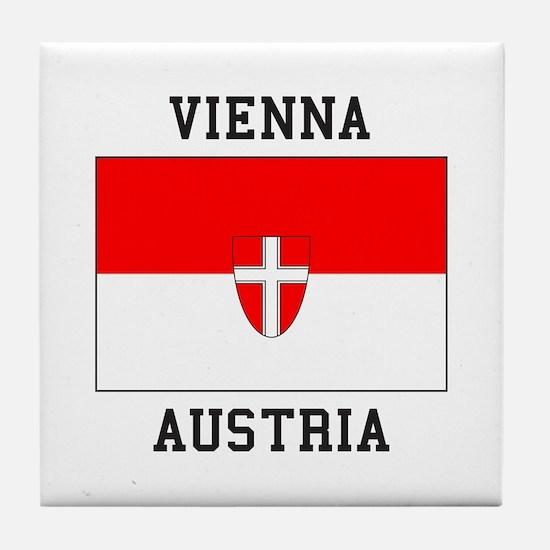 Vienna, Austria Tile Coaster
