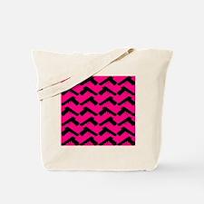 pink guns Tote Bag