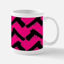 pink guns Mugs