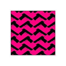 pink guns Sticker