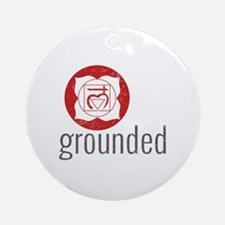grounded Round Ornament