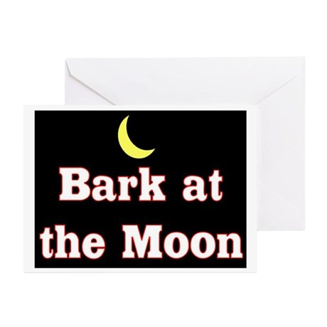 BARK AT THE MOON Greeting Cards (Pk of 10)