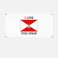 I Love Vigo spain Banner