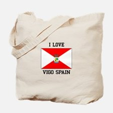 I Love Vigo spain Tote Bag