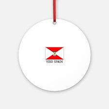 Vigo spain Ornament (Round)