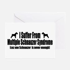 Schnauzer Greeting Cards (Pk of 20)