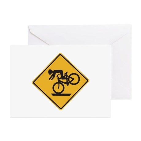 Helmets Recommended - USA Greeting Cards (Pk of 10