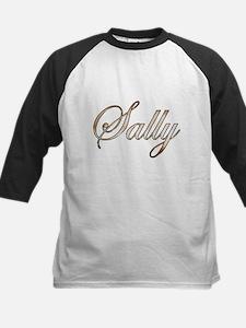 Gold Sally Baseball Jersey