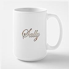 Gold Sally Mugs