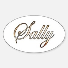 Gold Sally Decal