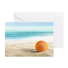 Summer Sand Greeting Cards