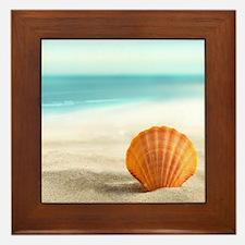 Summer Sand Framed Tile