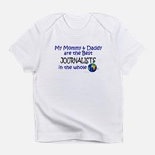 Cute Worlds best journalist Infant T-Shirt