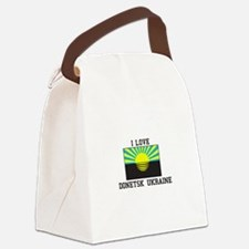 I Love Ukraine Canvas Lunch Bag