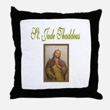 St. Jude Thaddeus Throw Pillow