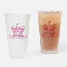 REDNECK PRINCESS #45 Drinking Glass