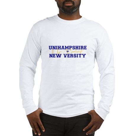 Unihampshire of New Versity -- Long Sleeve T-Shir