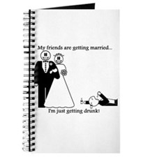 Cute Man of honor Journal