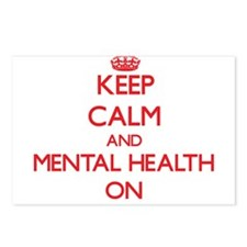 Keep Calm and Mental Heal Postcards (Package of 8)