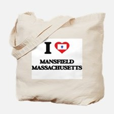 I love Mansfield Massachusetts Tote Bag