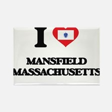 I love Mansfield Massachusetts Magnets