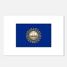 New Hampshire Flag Postcards (Package of 8)