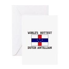 World's Hottest Ducth Antillian Greeting Cards